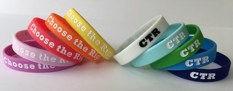 Choose The Right WRISTBAND - ADULT size