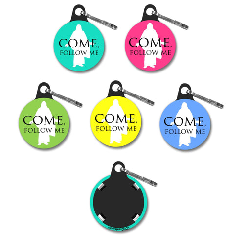 """Come, Follow Me"" ZIPPER PULL - Christus"