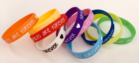 """Families Are Forever"" WRISTBAND"