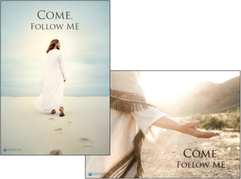 """Come, Follow Me"" POSTER - Single - Christ"