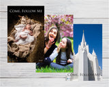 12-POSTER PACK - New Testament - Come Follow Me - 2019