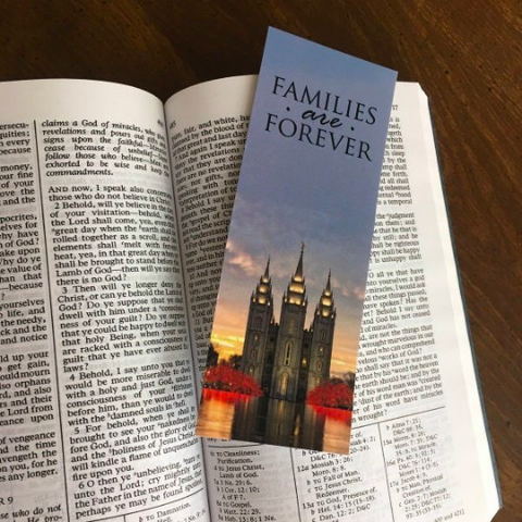 """Families Are Forever"" BOOKMARK"