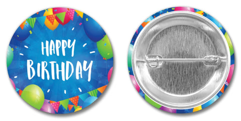 Birthday PIN-BACK BUTTON