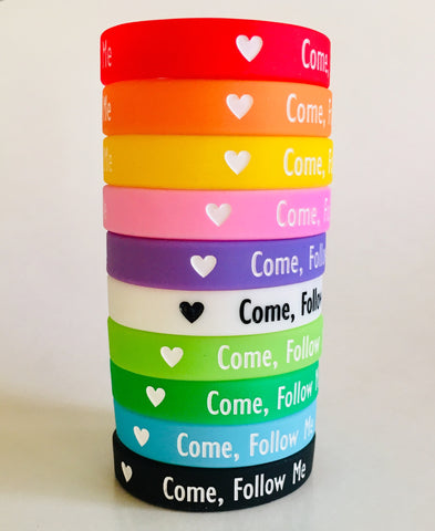"""Come, Follow Me"" WRISTBAND - JUNIOR PRIMARY size"