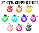 CTR Shield ZIPPER PULL - Choose the Right