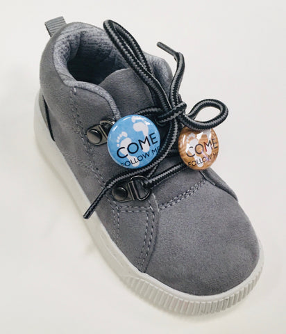 """Come, Follow Me"" PONYTAIL HOLDER/SHOELACE BUTTON - Feet"