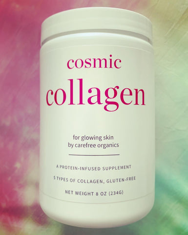 Cosmic Collagen, a protein-infused collagen supplement for glowing skin, 8 oz