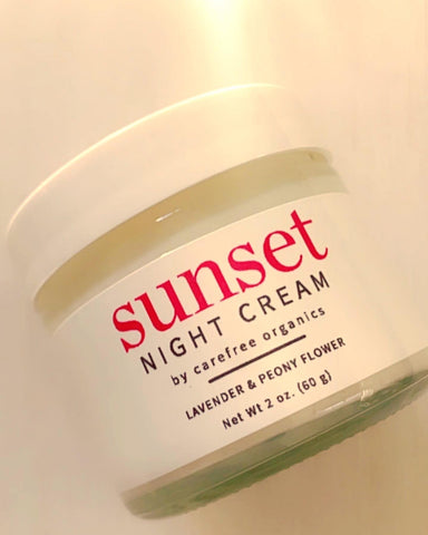 Sunset, the recharging night cream, 2 oz