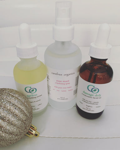 Holiday Hydration Bundle: Ageless, Damage Defy, + Rose Reset