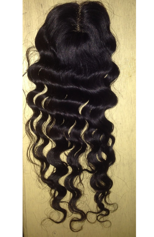 Brazilian Deep Wave LACE Top Closure Piece