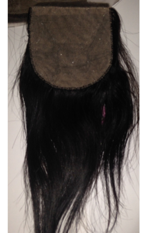 Brazilian Straight SILK top closure piece