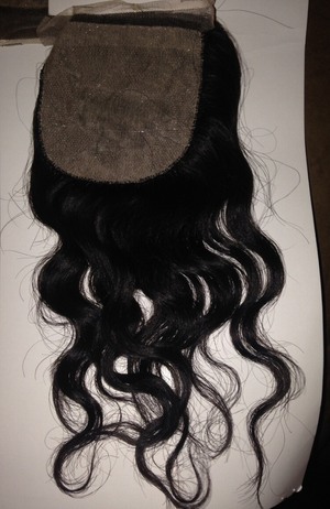 Brazilian Loose deep wave body silk closure