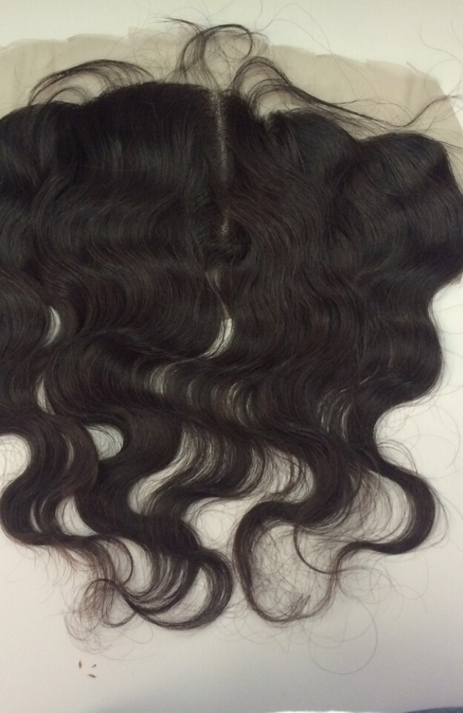 Brazilian Straight Transparent lace frontal piece