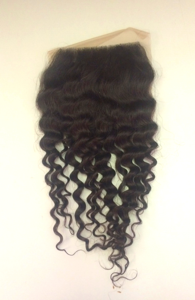 Virgin Malaysian deep bohemian top closure piece