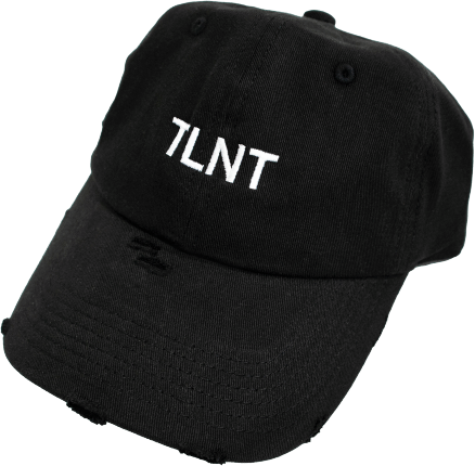 DISTRESSED BASEBALL CAP - TLNT