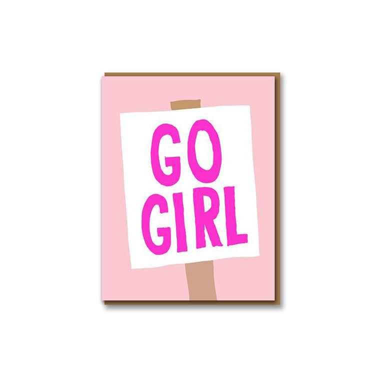 image of Go Girl Demo Card