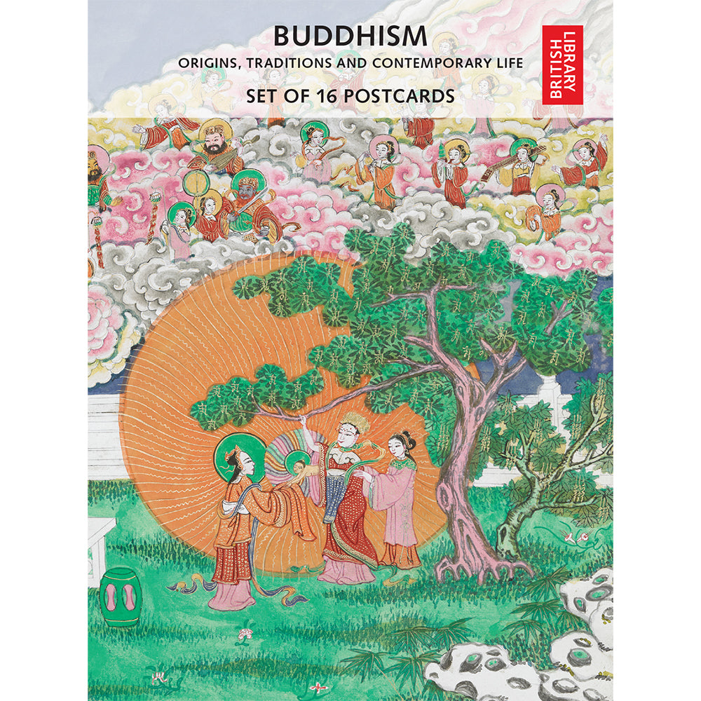 Buddhism Postcard Pack Front