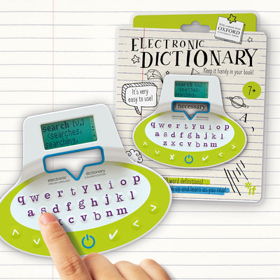 Lifestyle shot of Children's Electronic Dictionary Bookmark