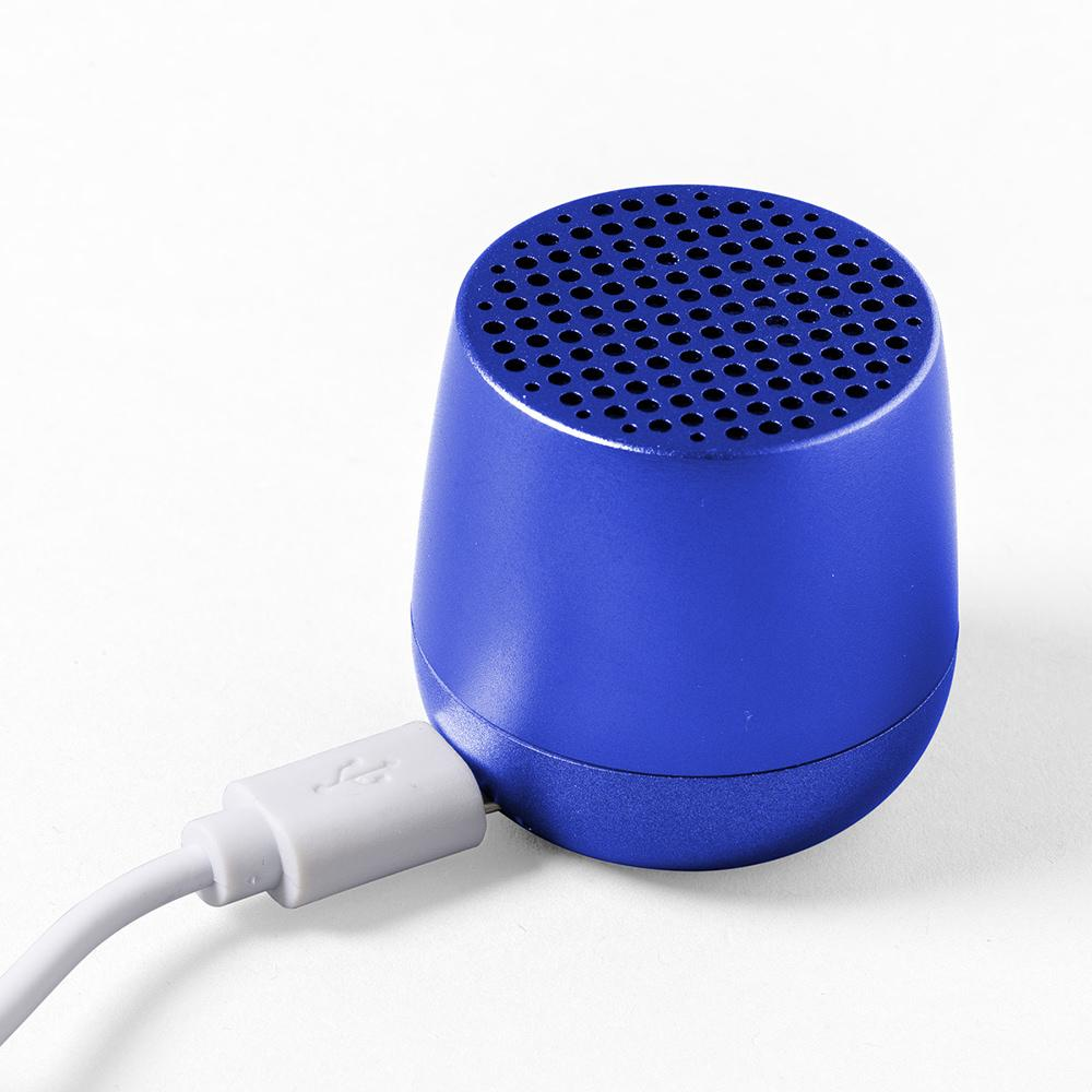 Mino Bluetooth Speaker Blue with charging cable