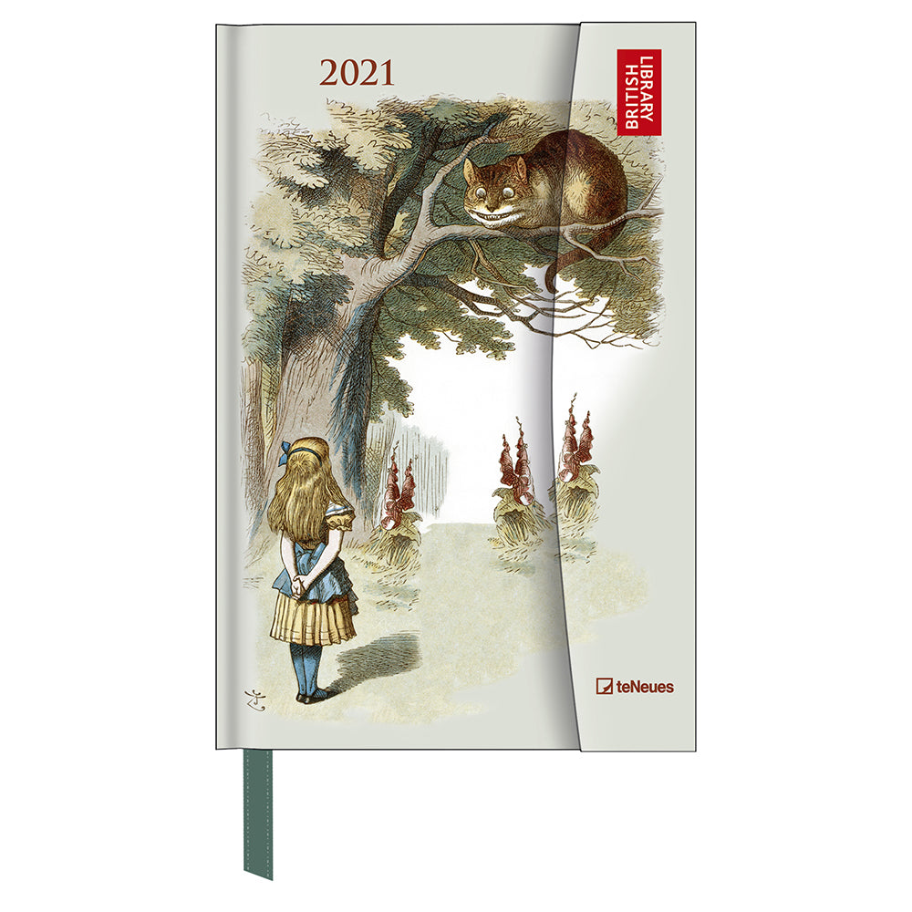 Alice in Wonderland British Library 2021 Pocket Diary