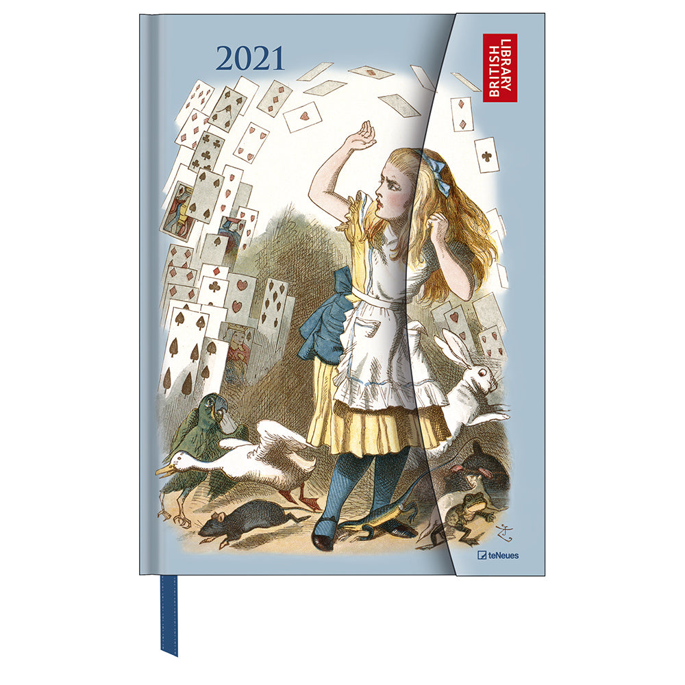 Alice in Wonderland British Library 2021 Large Diary