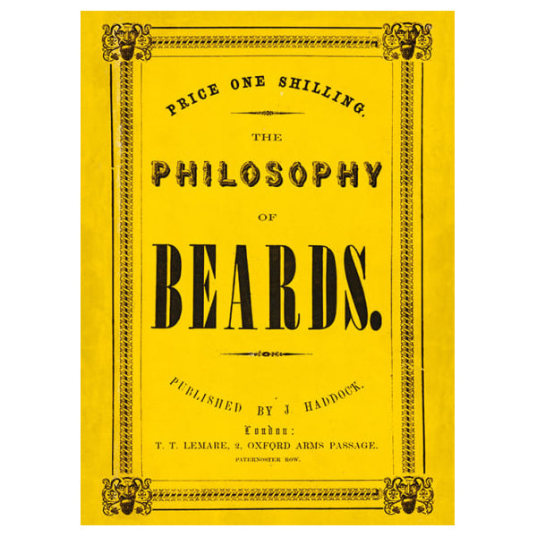 The Philosophy of Beards Card