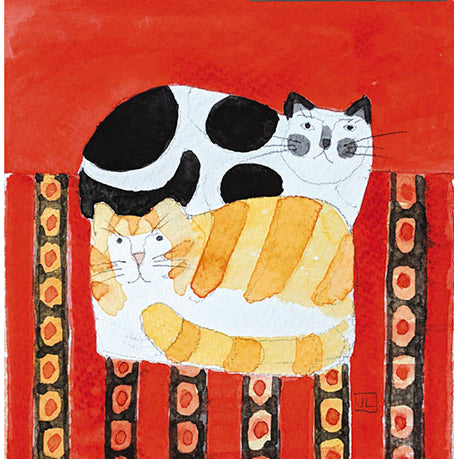 Waiting for Christmas Cats Cards 5 Pack