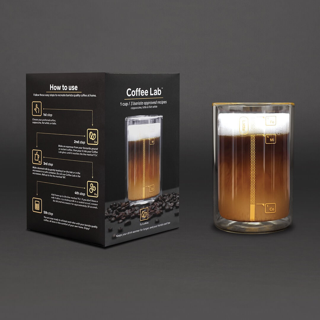 Coffee Lab Barista Cup with box