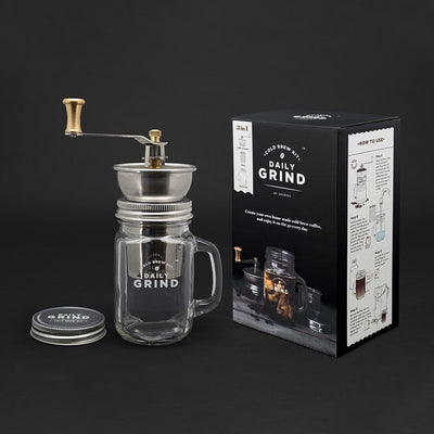 Daily Grind Cold Brew Kit with components