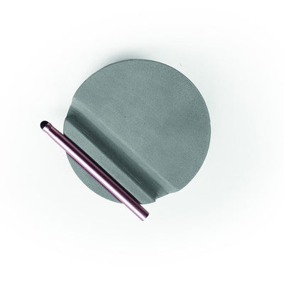 Concrete Tablet Stand & Stylus From Above