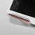 Close-up Concrete Tablet Stand & Stylus with iPad