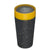 Reusable Coffee Cup 12oz Black/Mustard full image