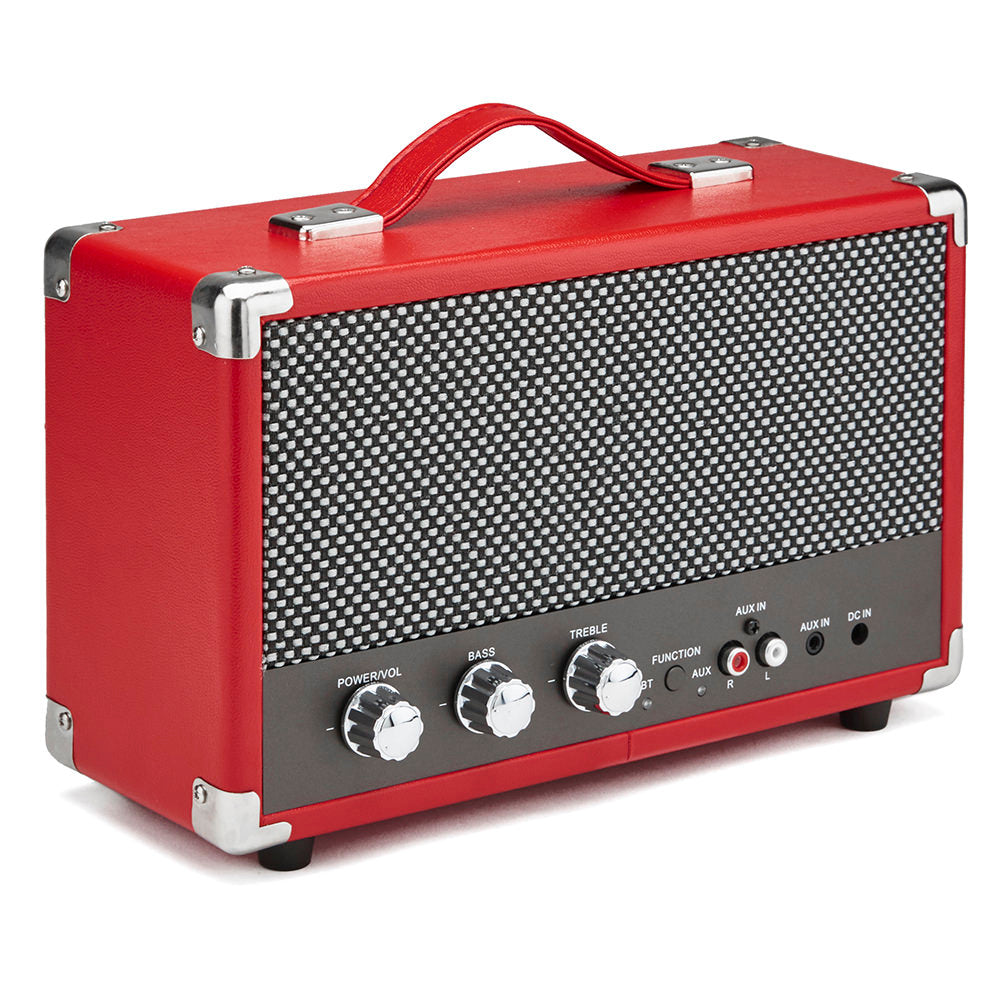 Westwood Bluetooth Speaker Red On white