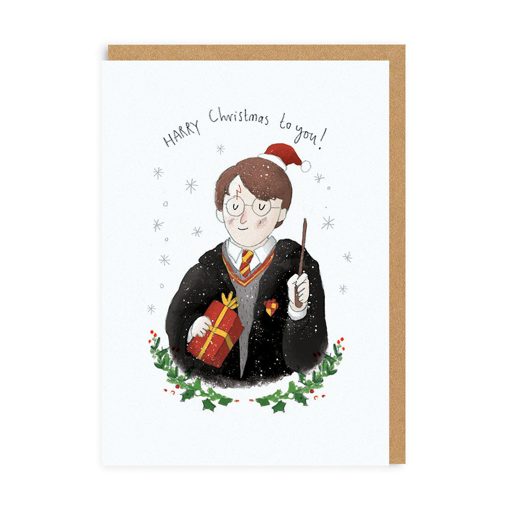 Harry Christmas To You Card