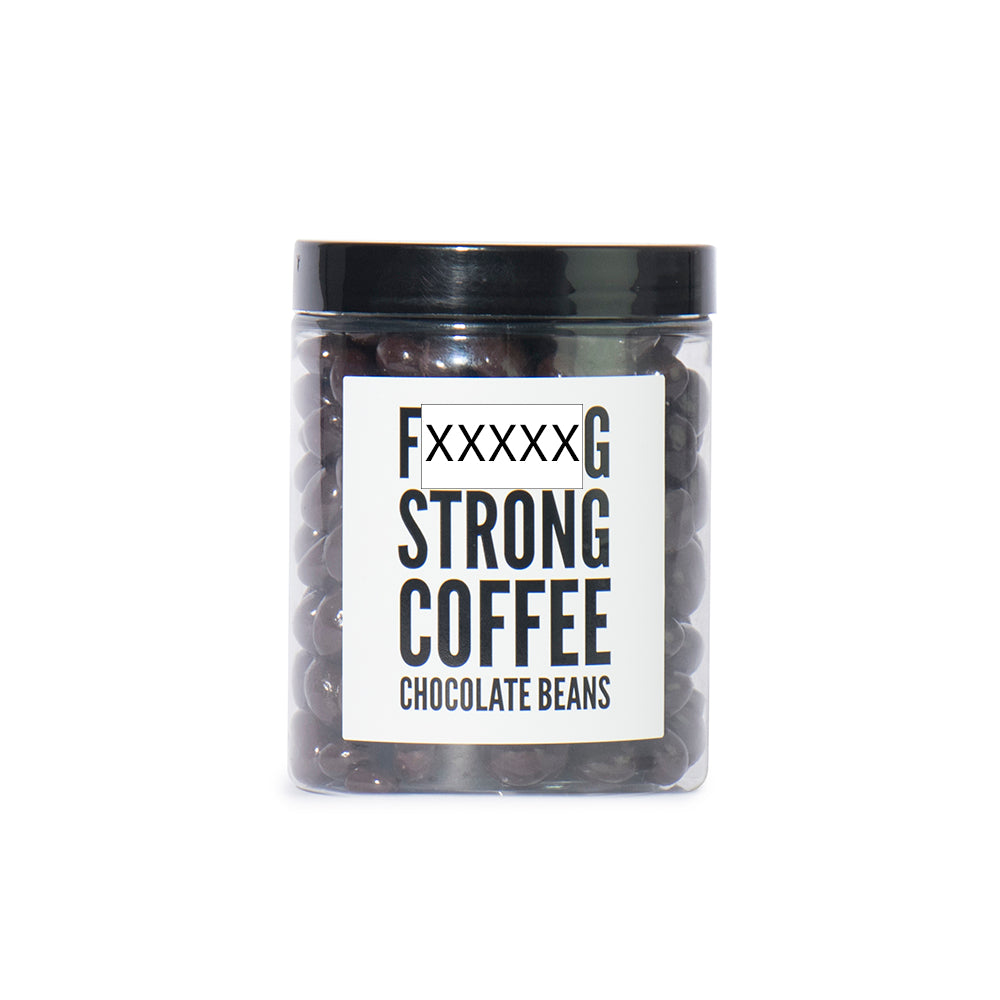 F*****g Strong Coffee Beans chocolate firebox