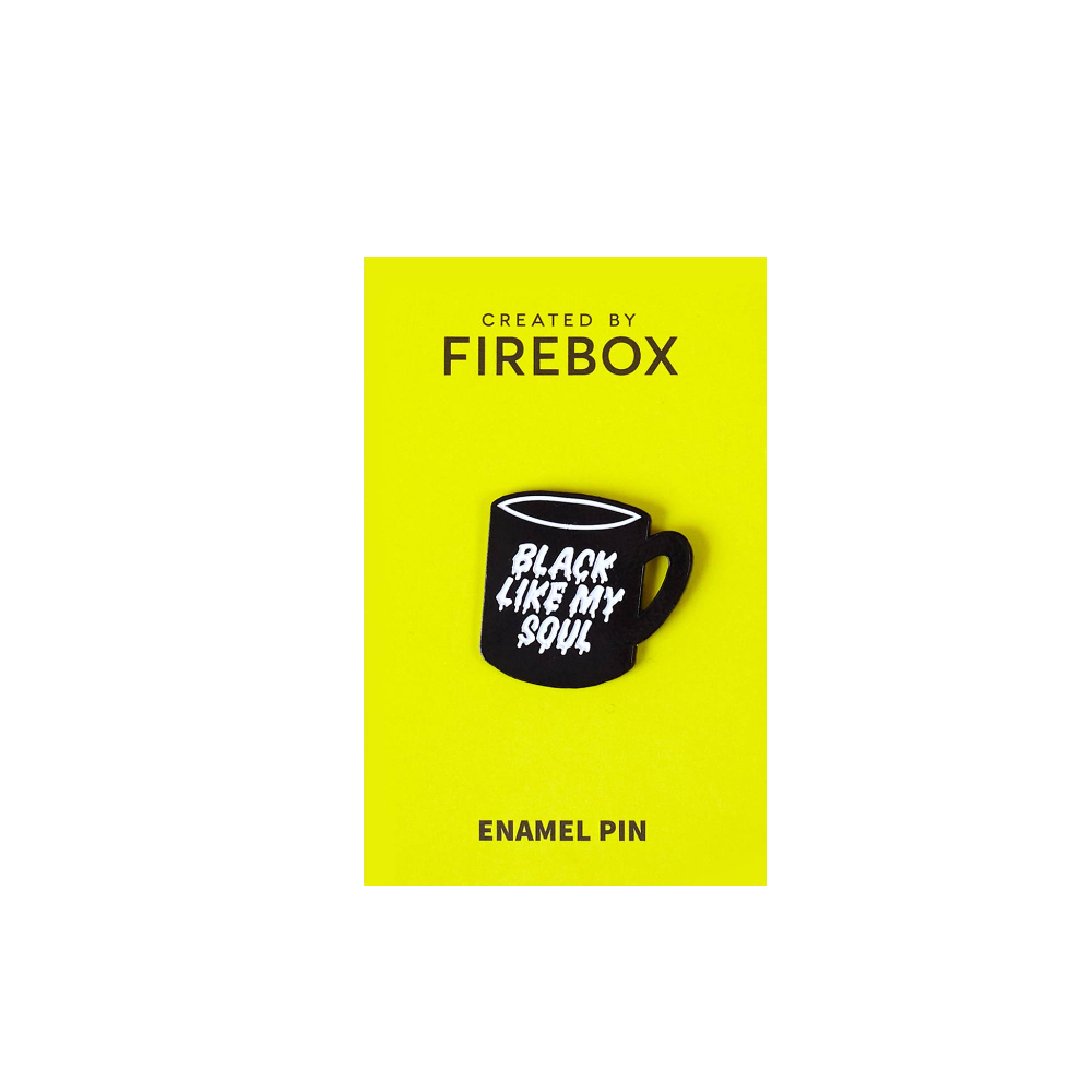 Black Like My Soul Pin Badge firebox