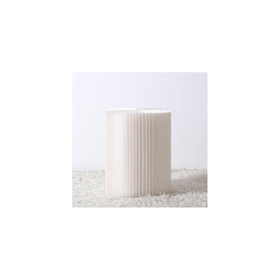 Tall Paper Stool White