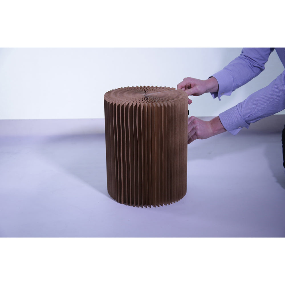 Tall Paper Stool Recycled