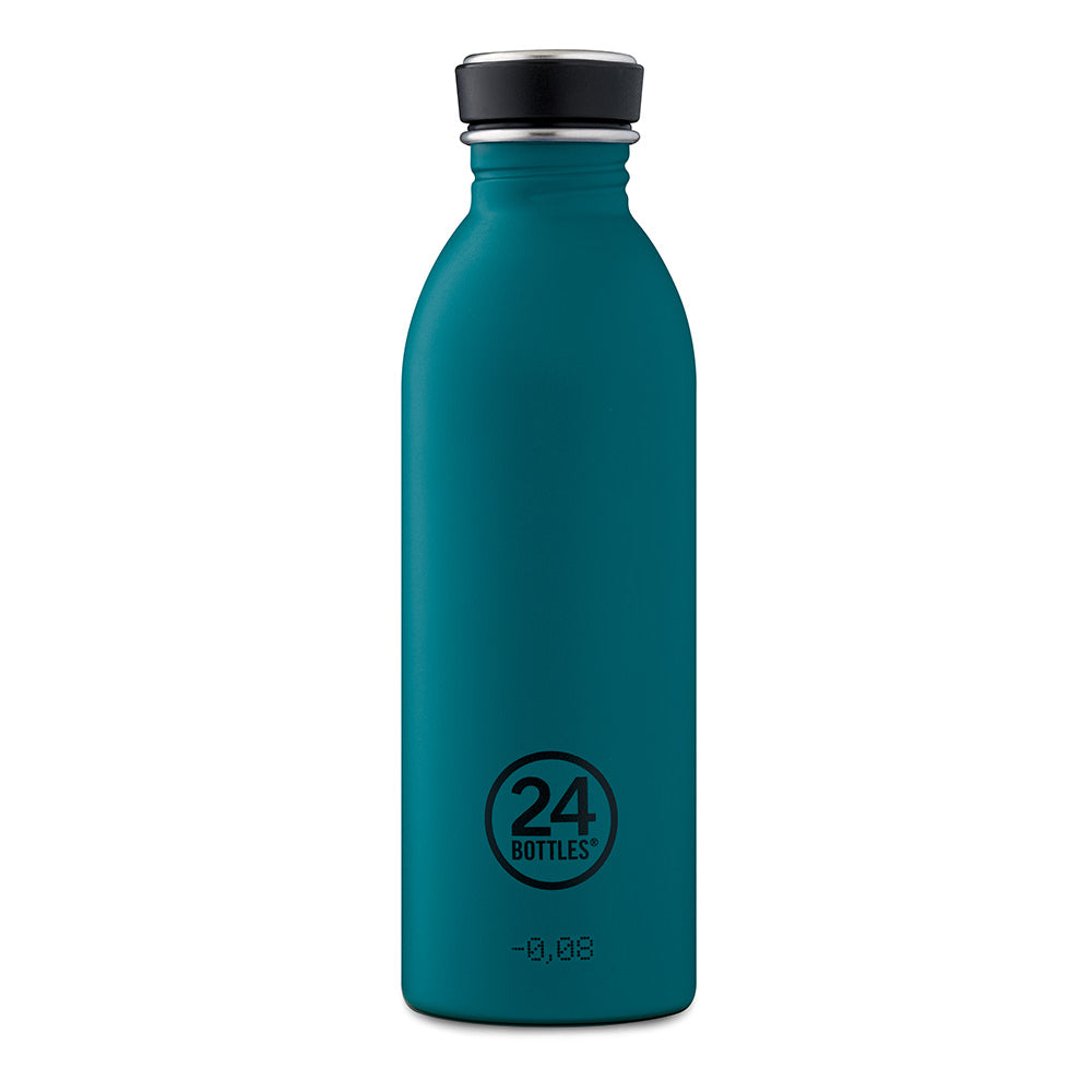 Reusable Water Bottle 500ml in Atlantic Bay full view