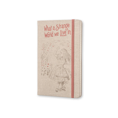 Alice in Wonderland Notebook Cover