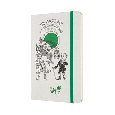The Wizard of Oz Humbug Magic Notebook Cover