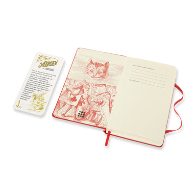 "Alice's Adventures in Wonderland ""The best way"" 12-month Pocket Daily Planner 2021 Inside Cover"