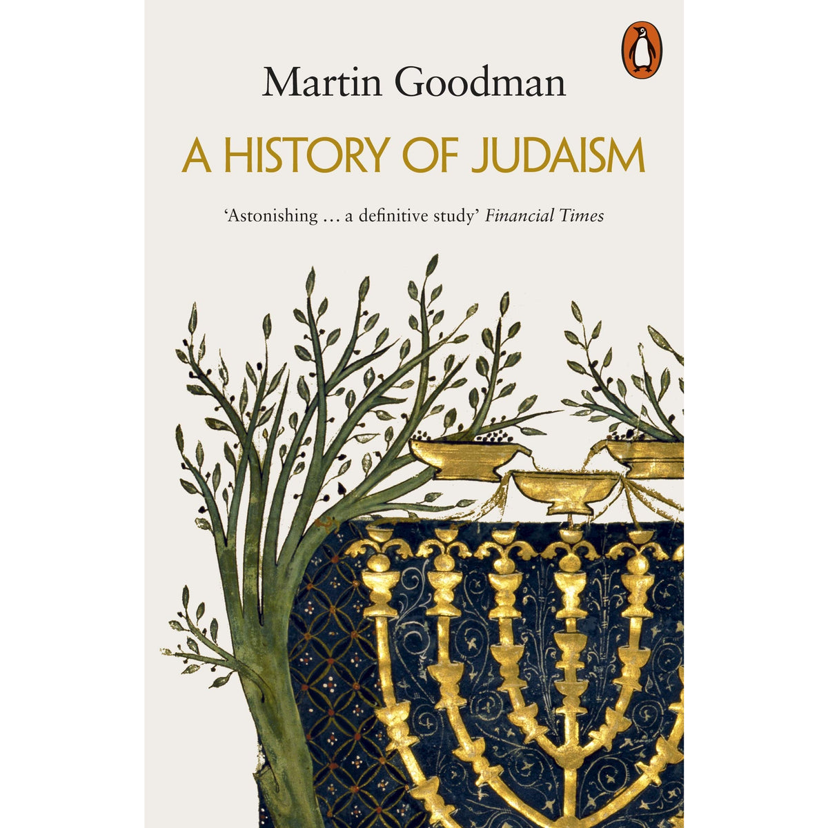 Cover of A History of Judaism