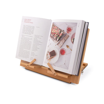 Image of Wooden Reading Rest with book