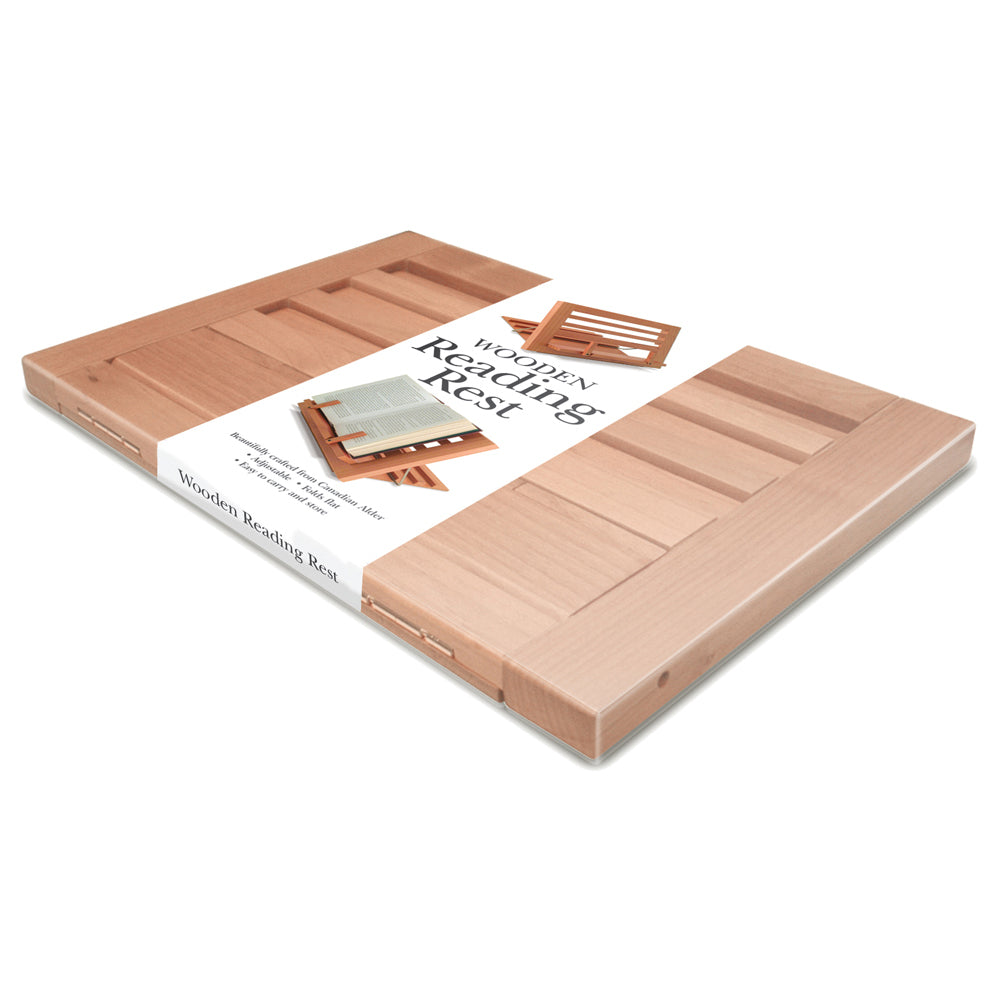 Image of Wooden Reading Rest in flat packaging