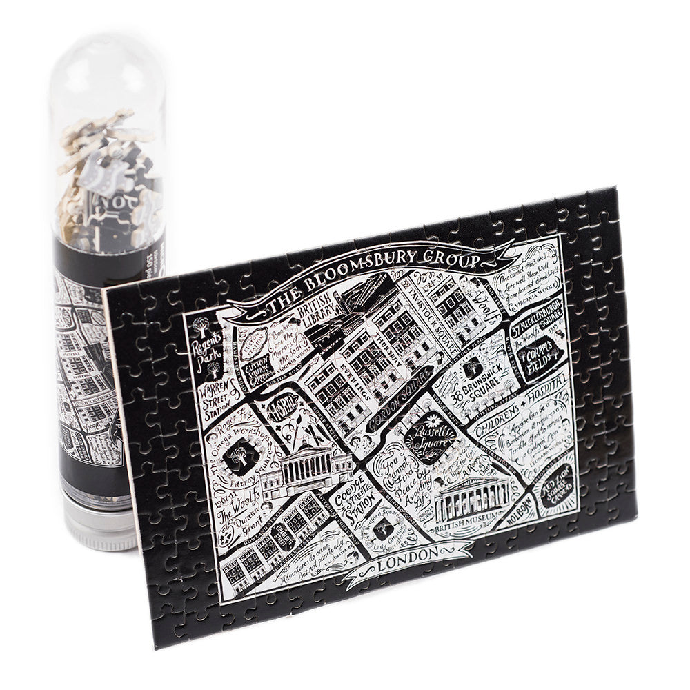 British Library Literary London Micro Puzzle Full size with tube
