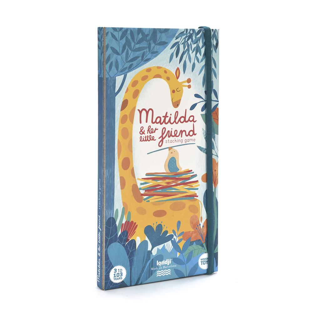 Matilda Giraffe Balancing Game Packaging Front