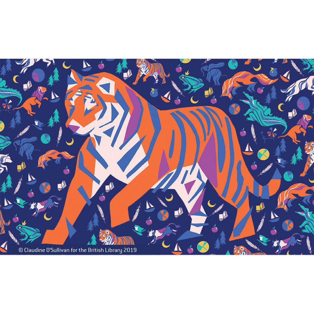 Tiger Micro Puzzle Finished Puzzle Design