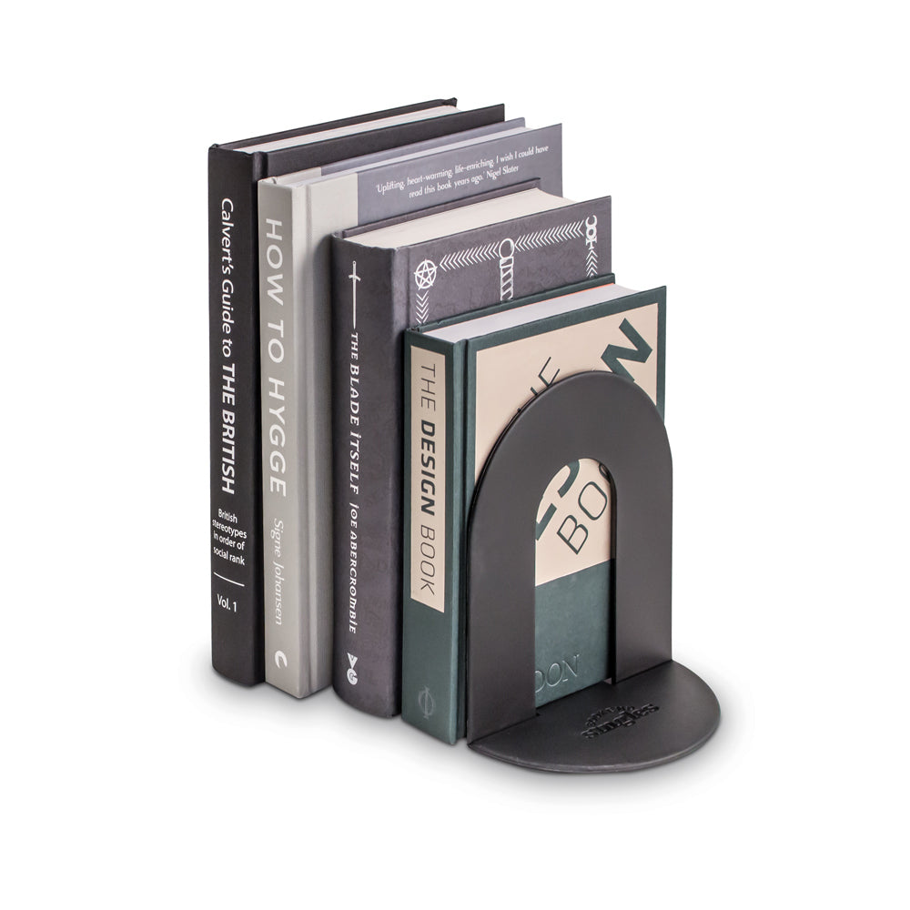 image of Black Pop Up Book End out of packaging