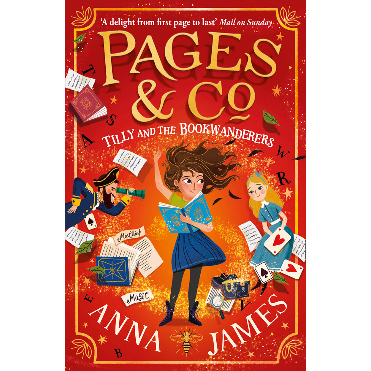 Cover of Pages & Co.: Tilly and the Bookwanderers by Anna James